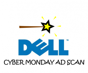 Cyber Monday Dell Ad Scan for the 2017 Holidays