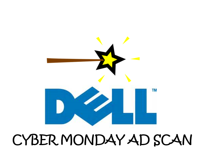 Dell Cyber Monday Ad Scan