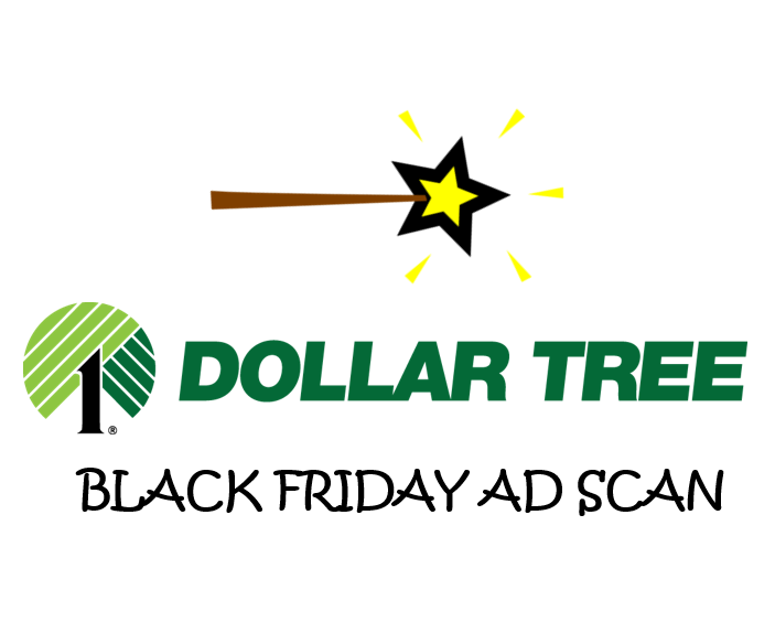 Dollar Tree Black Friday Ad Scan