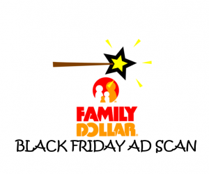 Black Friday Family Dollar Ad Scan for 2017