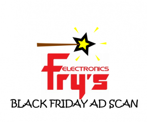 Black Friday Fry's Electronics Ad Scan for 2017