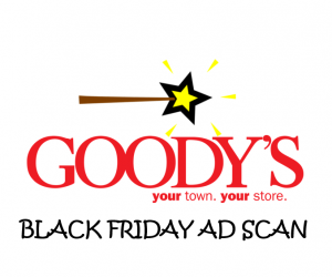 Black Friday Goody's Ad Scan for 2017