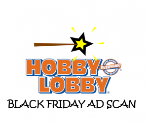 Black Friday Hobby Lobby Ad Scan for 2017