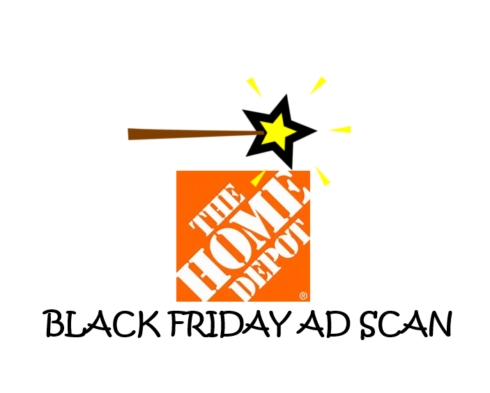Home Depot Black Friday Ad Scan