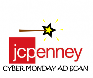 Cyber Monday JCPenny Ad Scan for the 2017 Holidays