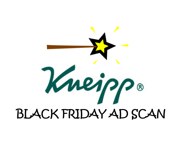 Kneipp Black Friday Ad Scan