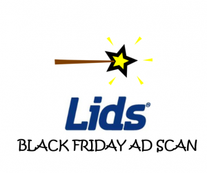 Black Friday Lids Ad Scan for the 2017 Holiday