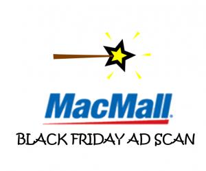 Black Friday MacMall Ad Scan for 2017