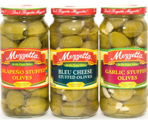 Printable Coupon – SAVE $1 on Mezzetta Olives
