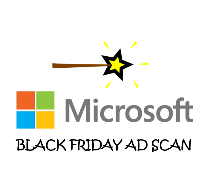 Microsoft Black Friday Ad Scan
