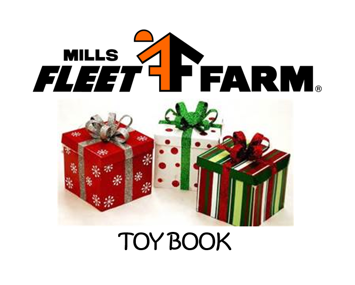 Mills Fleet Farm Toy Book