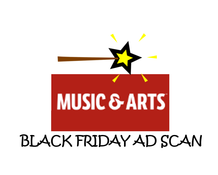 Music & Arts Black Friday Ad Scan