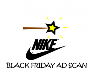 Black Friday Nike Ad Scan for the 2017 Holidays