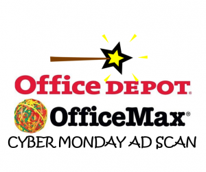 Office Depot Cyber Monday Ad Scan