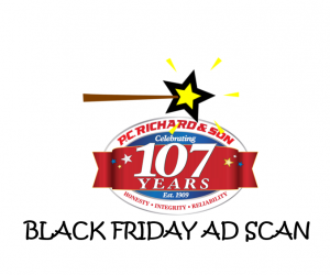 Black Friday P.C. Richard & Son Ad Scan for 2017