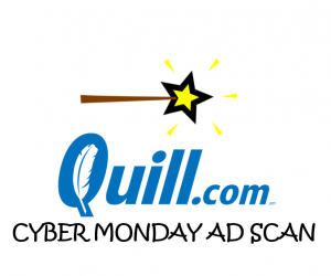 Cyber Monday Quill.com Ad Scan 2017