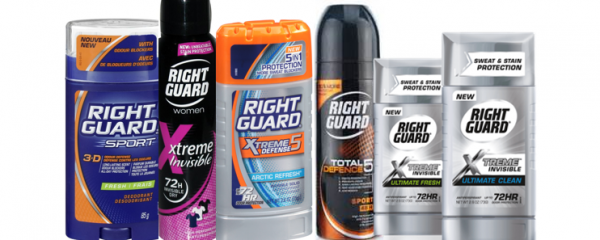Right Guard Deodorant Products new