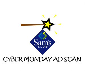 Cyber Monday Sam's Club Ad Scan 2017