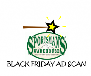 Black Friday Sportsman's Warehouse Ad Scan for 2017