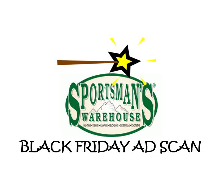 Sportsman's Warehouse Black Friday Ad Scan
