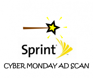 Cyber Monday Sprint Ad Scan for 2017