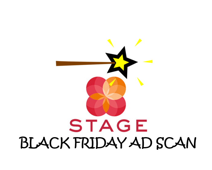 Stage Black Friday Ad Scan