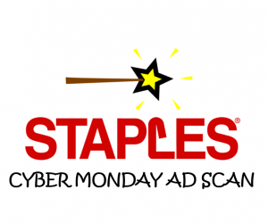 Staples Cyber Monday Ad Scan