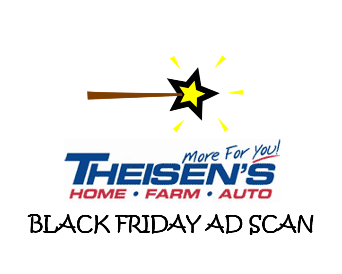 Theisen's Black Friday Ad Scan