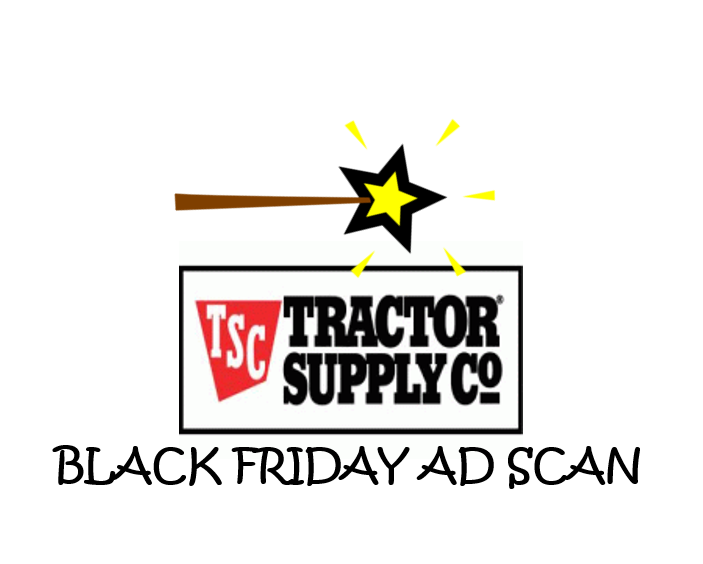 Tractor Supply Co Black Friday Ad Scan