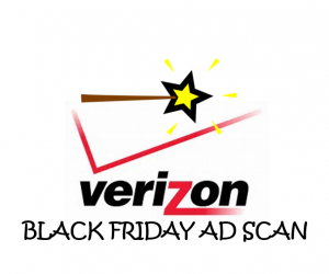 Black Friday Verizon Ad Scan for 2017