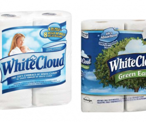 Printable Coupon – SAVE $3 on White Cloud TP or PT
