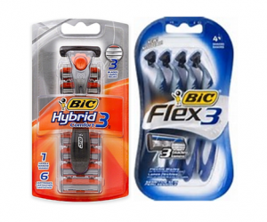 Printable Coupon – SAVE $3 on BIC Flex or Hybrid 3
