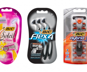 Printable Coupon – SAVE $3 on BIC Soleil, Flex or Hybrid