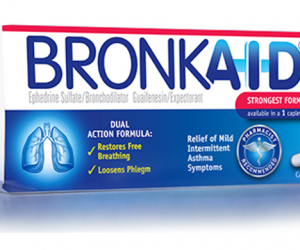 Printable Coupon – SAVE $1.50 on Bronkaid