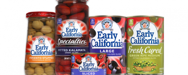 Early California Olives new
