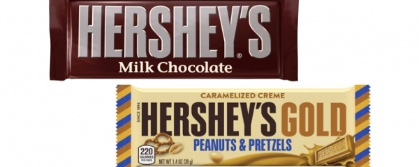 Hershey's Bar & Hershey's Gold Bar new