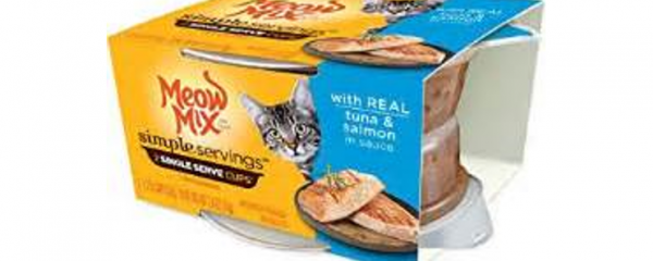 Meow Mix Simple Servings Twin Pack new