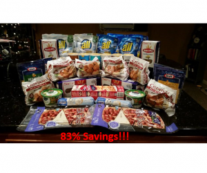 Publix Trip on 12/14/17 with 83% Savings
