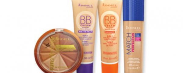 Rimmel Face Products new