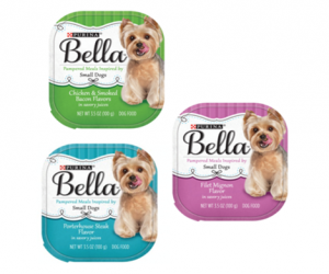 Printable Coupon – SAVE $2.50 on Bella Wet Dog Food Singles