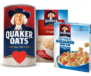 Printable Coupon – SAVE $1 Quaker Oats or Squares