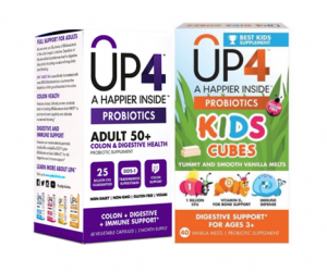 Printable Coupon – SAVE $6 on Up4 Probiotics