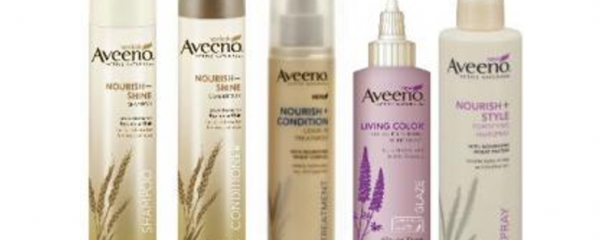 Aveeno Hair Care Products new