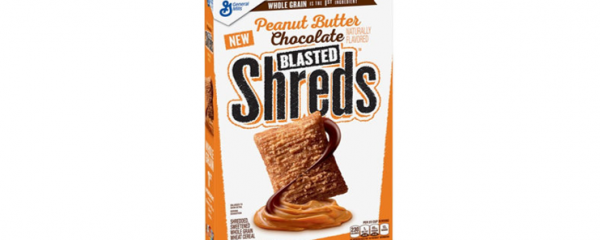 General Mills Blasted Shreds Cereal new