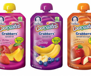 Printable Coupon – SAVE $1 on Gerber Pouches