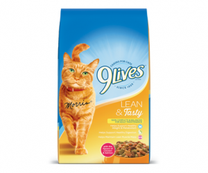 Printable Coupon – SAVE $0.75 on 9Lives Dry Cat Food