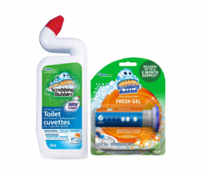 Printable Coupon – $1.50/2 Scrubbing Bubbles Gel & Cleaner