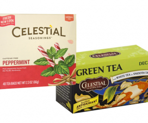 Printable Coupon – SAVE $1 on Celestial Seasonings