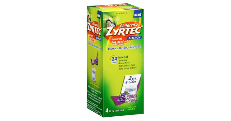 photograph regarding Zyrtec Printable Coupon referred to as Printable Coupon - Help you save $4 upon Childrens Zyrtec * Coupon-Wizards