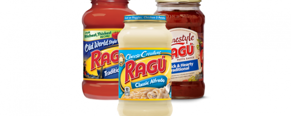 Ragu Pasta Sauces new